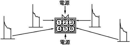 四缸双点火线圈接线图